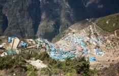 Namche Bazaar 3440m.