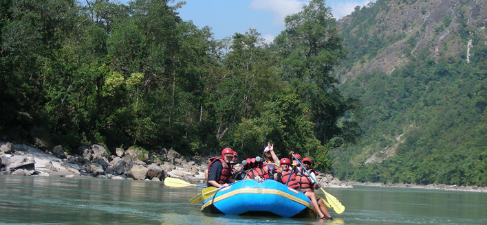 Trishuli River Rafting Tow days Trips